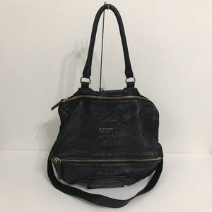 Authentic Givenchy Large Pandora Black Pepe